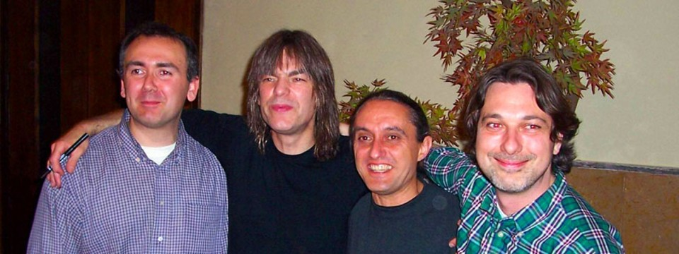 Doc Sound con Mike Stern